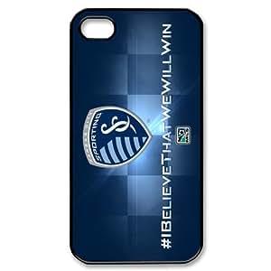 Major League Soccer Team Logo Hard iPhone 4/4S Case by mcsharks