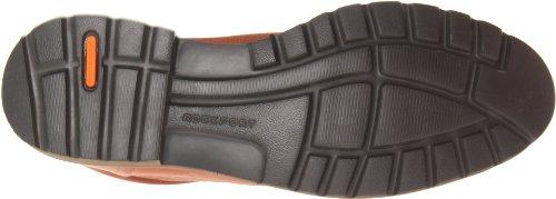 Boot Men's Tan Chukka Dark Lace Charson Rockport Up qBnFpwU