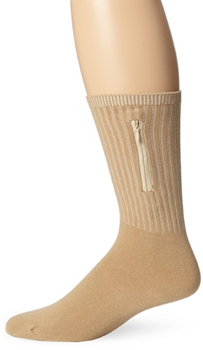 Travelon Security Socks Medium, Tan, One Size