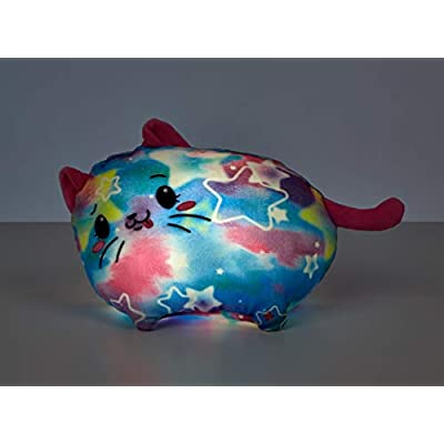 Pikmi Pops Jelly Dreams Cat, Light Up Plush, Blue: Toys & Games