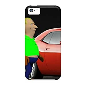 Cartoon Awesome High Quality Iphone 5c Case Skin