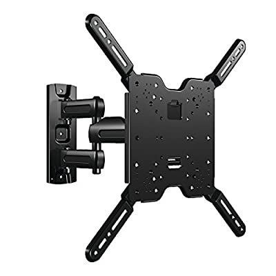 """SANUS Vuepoint Full Motion TV Wall Mount Bracket for 37-80"""" TVs - Includes 10' HDMI, Surge Protector, Cable Ties and More - FLF215KIT"""