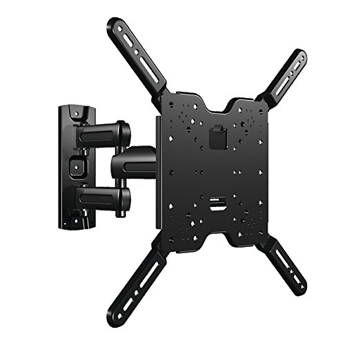 SANUS Vuepoint Full Motion TV Wall Mount Bracket for 37-80'' TVs - Includes 10' HDMI, Surge Protector, Cable Ties and More - FLF215KIT by Sanus