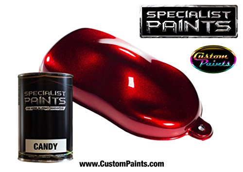 (Specialist Paints Candy Paint Ruby Red - Quart )
