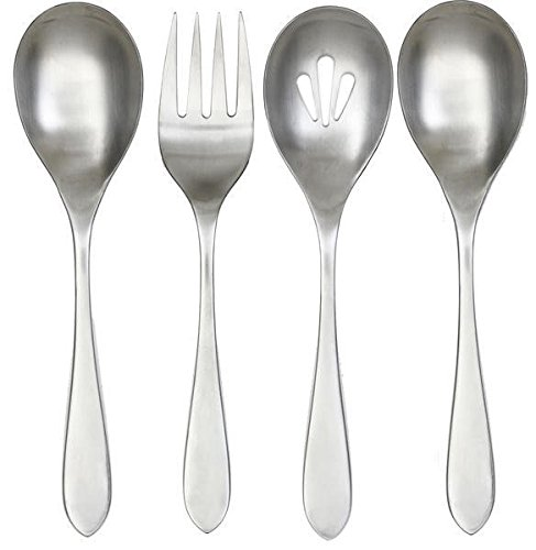 Cambridge Silversmiths Meridian Satin 4 Piece Hostess Set