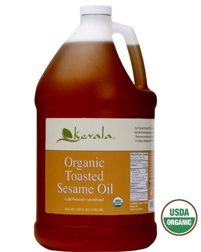 Kevala Organic Toasted Sesame Oil, 128 Fluid ()