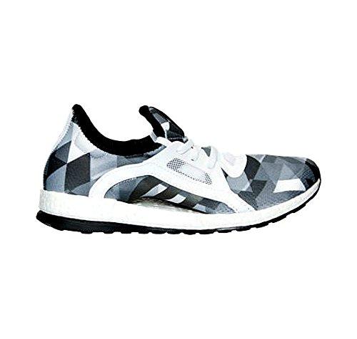 Adidas Performance Boost Pure X Zapatilla deportiva, negro / shock verde / negro, 5,5 M con nosotros White/White/Black