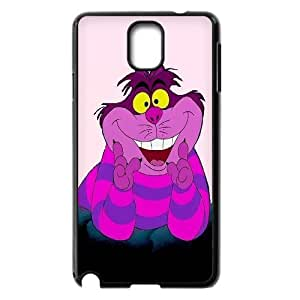 [QiongMai Phone Case] For Samsung Galaxy NOTE3 Case Cover -Alice and Cheshire Cat Pattern-IKAI0446635