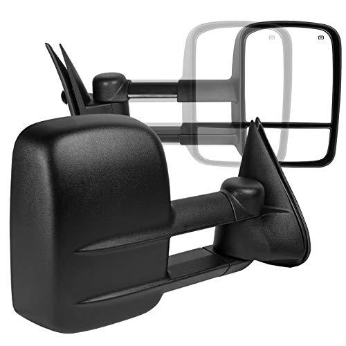 Spec-D Tuning RMX-SIV99H-P-FS Spec-D 99-02 Silverado Towing Mirrors - Power