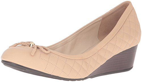 Women's Grand Quilt Leather Tali Haan Nude Cole Lace Pumps Wedge wXHxSTq