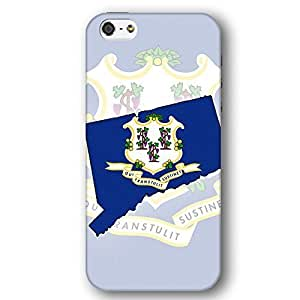 Connecticut USA State Flag For Iphone 6 4.7 Inch Case Cover lim Phone Case