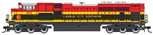 Walthers Ho Scale Emd Sd70ace  Soundtraxx Sound Dcc  Kansas City Southern  4173