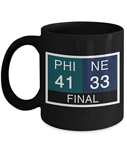 LII Scoreboard Final, The Funny Philly Special Eagles Nick Foles Trick Play Coffee Mugs, homedogs, nfl, football, philadelphia eagles, fly eagles -