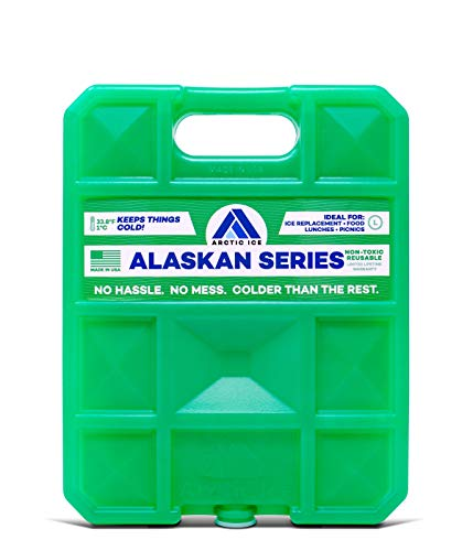 ARCTIC ICE Alaskan Series Reusable Cooler Pack, Reusable Ice Packs for Coolers, Long Lasting Ice Pack, Large Ice Pack