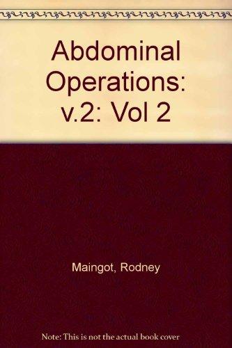 Abdominal Operations: Vol 2