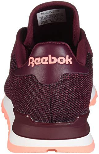 Zapatillas Wine Pink Reebok Classic Nylon Rustic digital Mujer PHXHEfvwnq