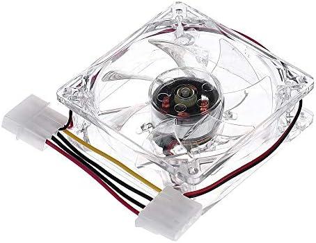 CAOQAO - 1 Pieza de 8 cm de luz Azul LED de Repuesto de radiador ...