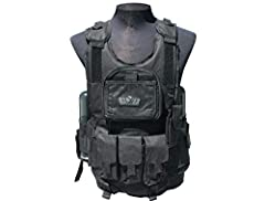 GXG Vest Features: Hydration Unit Sleeve - Zippered sleeve to place a hydration bladder (upto 70oz, sold separately)Removable Contouring Foam - Can be remove and replaced when neededFlip Down ID and Card Holder - Chest pocket now has an extra...