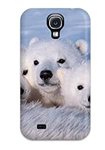 Galaxy Case Cover For Galaxy S4 Retailer Packaging Polarbears Protective Case