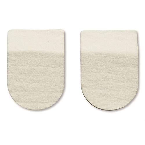 HAPAD Heel Pads, 2-1/2 x 9/16 inch, pack of 3 pairs