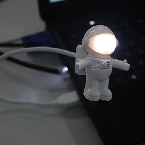Tuscom Creative Astronaut USB LED Light Lamp Laptop Desktop Computer Accessory