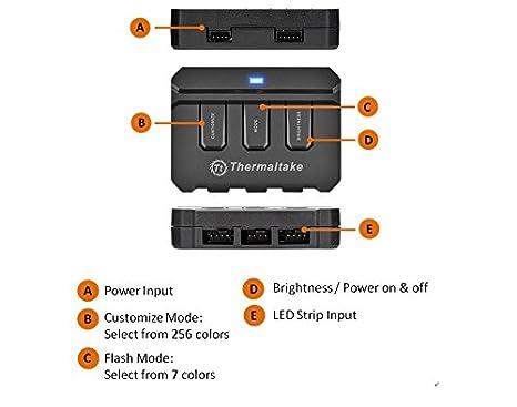 Thermaltake TT Sync SATA Powered 9 Port Addressable LED Controller