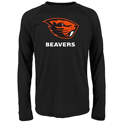Gen 2 NCAA Oregon State Beavers Youth Boys Loyal Fan' Performance Tee, Youth Boys Large(14-16), Black