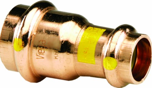 Viega 23273 ProPress G Copper Reducer with 3/4-Inch by 1/2-Inch P x P - Propress Reducer