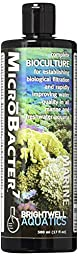 Brightwell Aquatics ABABAC500 Microbacter7 Liquid Water Conditioners for Aquarium, 17-Ounce