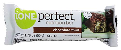 Zone Nutrition Bar, Choc Mint, 1.76-Ounce Pack of 12