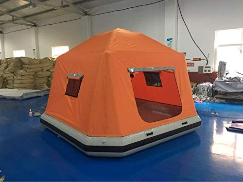 Inflatable-Floating-PVC-Shoal-Family-Camping-Water-Raft-Tent-AS-SEEN-Online