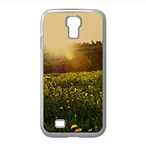 Spring Meadow Watercolor style Cover Samsung Galaxy S4 I9500 Case (Landscape Watercolor style Cover Samsung Galaxy S4 I9500 Case)