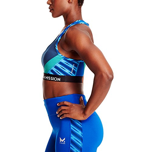 Mission Women's VaporActive Temper Racerback Medium Impact Sports Bra