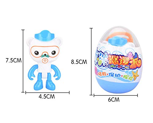 Magic Egg That Hatch Octonauts Play Toy Figurines for Boy Girl Octo Crew Fans AG Goodies Hatching Eggs Octonauts Toys 4 Pack