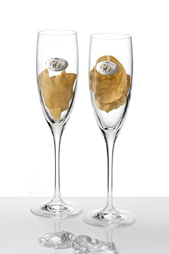 Acca, Set of Two 50th Anniversary Champa - Sterling Silver Champagne Flutes Shopping Results
