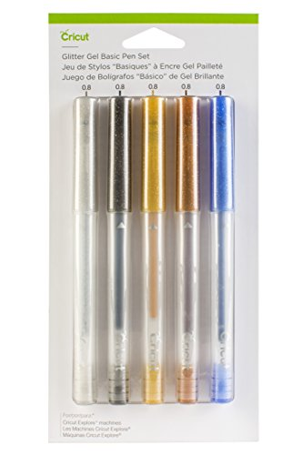 Cricut Glitter Gel Pen Set, Basics