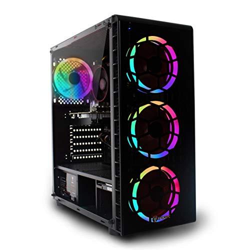 Fierce Gaming PC – Intel Core i5 9400F 4.1GHz, GTX 1660 Super 6GB, 16GB 3000MHz, 240GB Solid State Drive, 1TB Hard Drive…