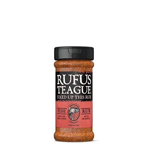 Fish Rub Seasoning (Rufus Teague Rub Fish, 6.8 oz)