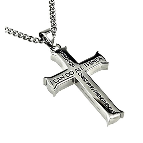 Front Cross Necklace - 1