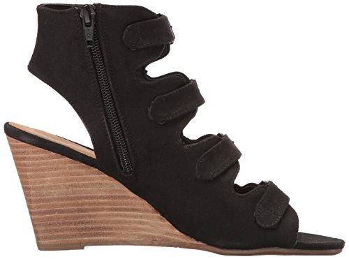 Black Sandal para Sadah Informe mujer Wedge q01tFZ