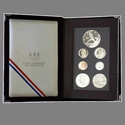 1992 US Mint Olympic Prestige Proof Coin Set