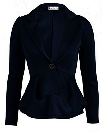 Abrigo para Shop Fashion azul mujer Funky marino EBqOWx