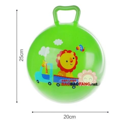 Inflatable Bouncing Ball Sport Toy Cartoon Animal Educational Toy Ball For Baby Picture