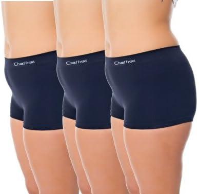 Chaffree Anti Rozaduras – Slip – 3 Pack bóxer para Mujer | Colour ...