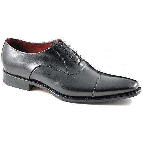 Loake EU 39 Noir Noir Chaussures de Noir Noir Pour Homme Lacets Ville à 44rqw