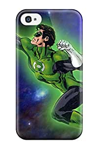 Iphone 4/4s Case Cover Skin : Premium High Quality Green Lantern Case