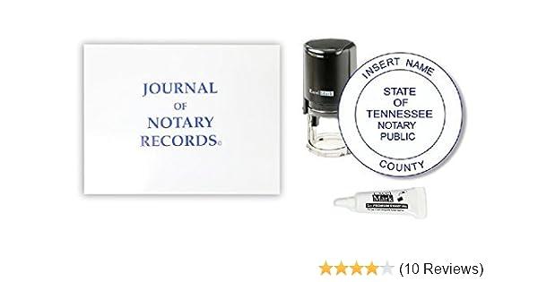 Amazon ExcelMark Self Inking Notary Stamp Kit