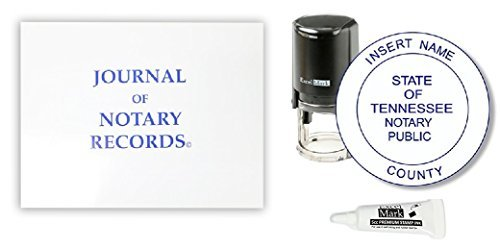 ExcelMark Self Inking Notary Stamp Kit - Tennessee