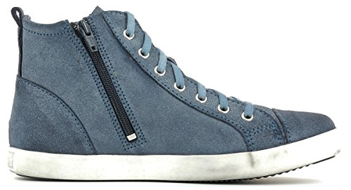Tamaris Damen High-Top Sneaker Blau DENIM ANTIC