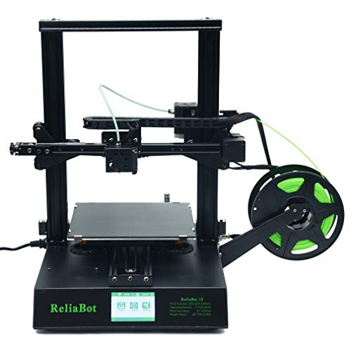ReliaBot 3D Printer with Resume Printing Function and High Adhesion Print Platform, Include 1KG PLA Test Filament, Print Volume 225x225x250mm, Works with TPU/PLA/ABS